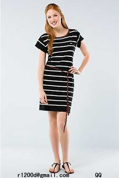 robe de marque femme pas cher acheter robe lacoste robe lacoste promo paypal. Black Bedroom Furniture Sets. Home Design Ideas